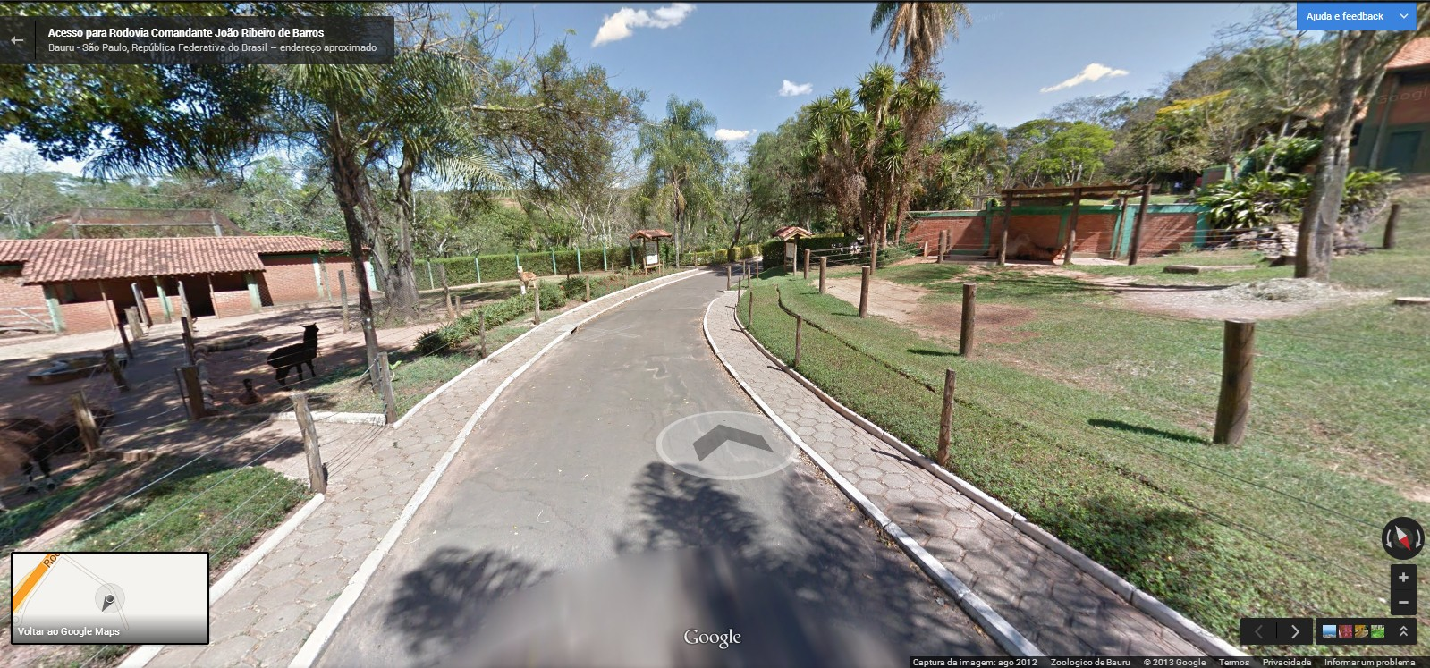 Bauru no Street View.