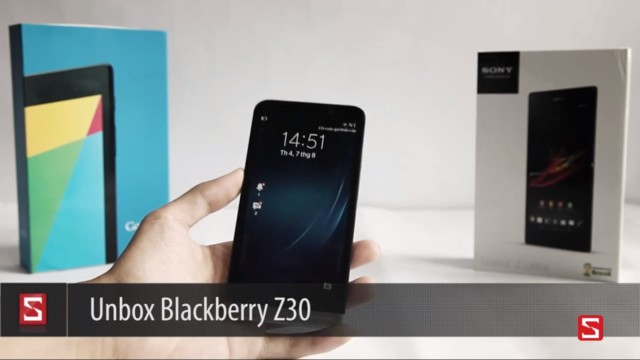 BlackBerry Z30?