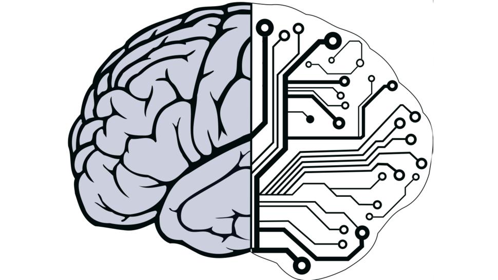 Cérebro metade orgânico, metade máquina.