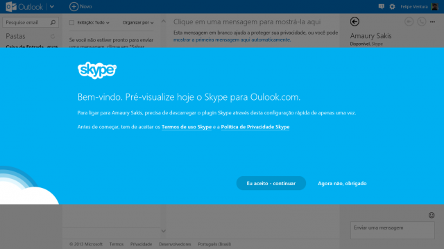 skype outlook plugin