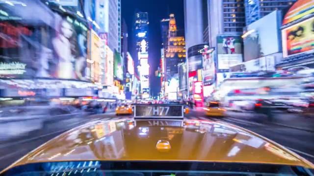Timelapse da Times Square.