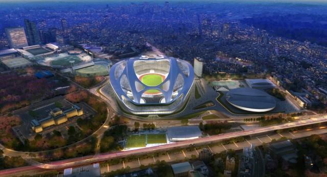 Estadio Olimpico Tóquio reformado(1)
