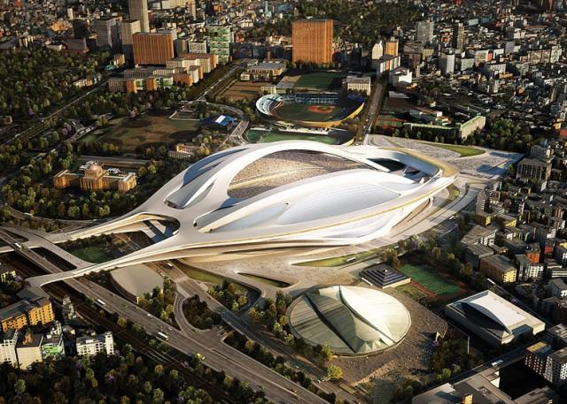 Estadio Olimpico Tóquio reformado(2)