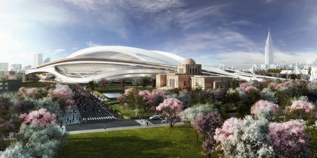 Estadio Olimpico Tóquio reformado(3)