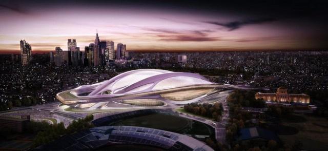 Estadio Olimpico Tóquio reformado