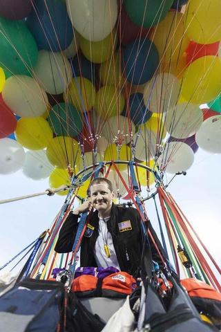 Jonathan Trappe e seus balões