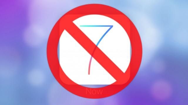 Não atualize o iOS