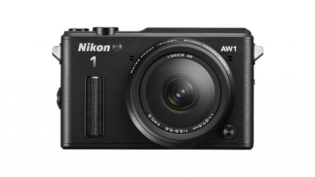 Nikon AW1 preta