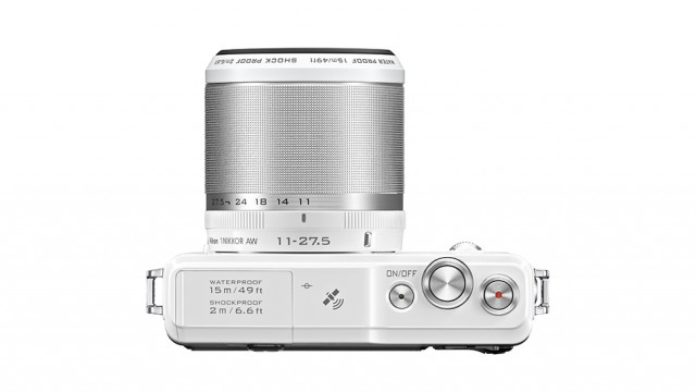 Nikon AW1 vista superior