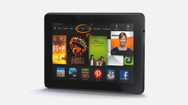 Novo Kindle Fire HDX