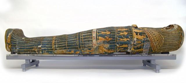 Sarcófago restaurado