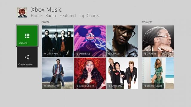 Xbox Music Xbox One (1)