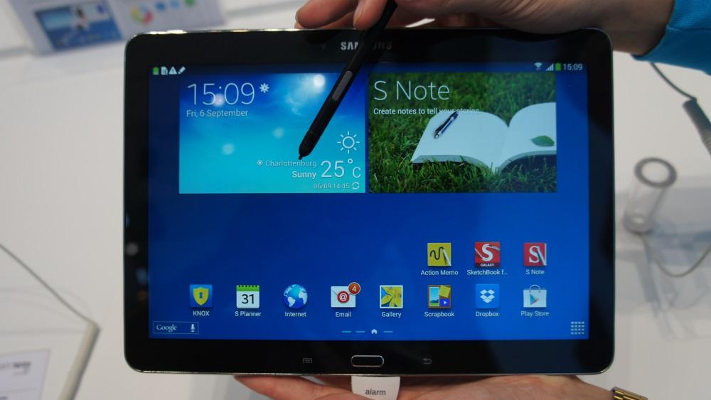 [Hands-on] Novo Galaxy Note 10.1: o tablet que aprendeu com os erros do passado