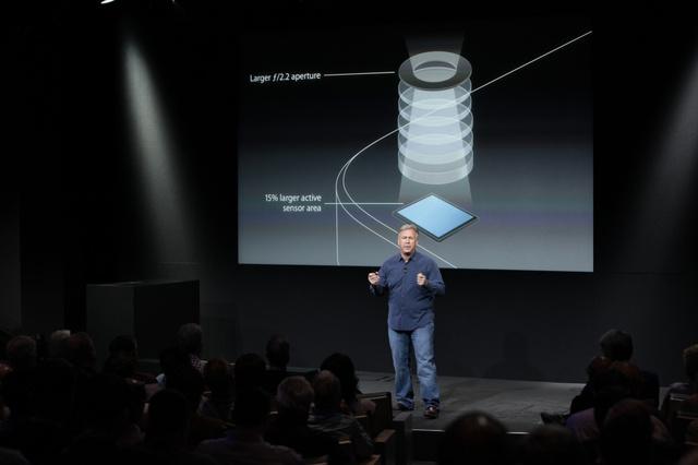 iphone 5s keynote camera