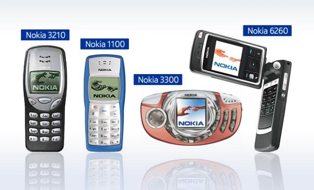 nokia celulares