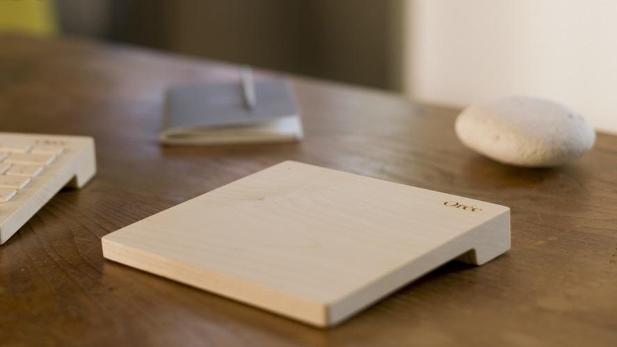 Como este touchpad de madeira funciona de verdade