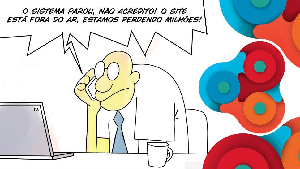 IBM: Ti em quadrinhos