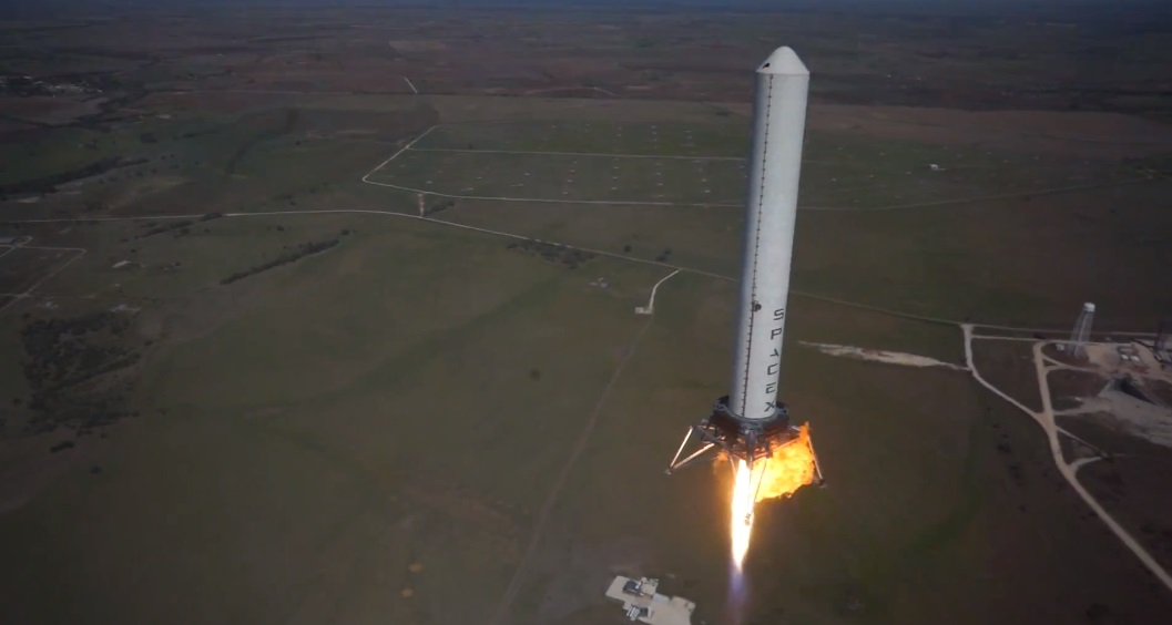 grasshopper 744m spacex