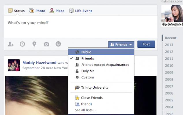 Como mudar a privacidade do Facebook agora que todo o seu passado pode ser encontrado