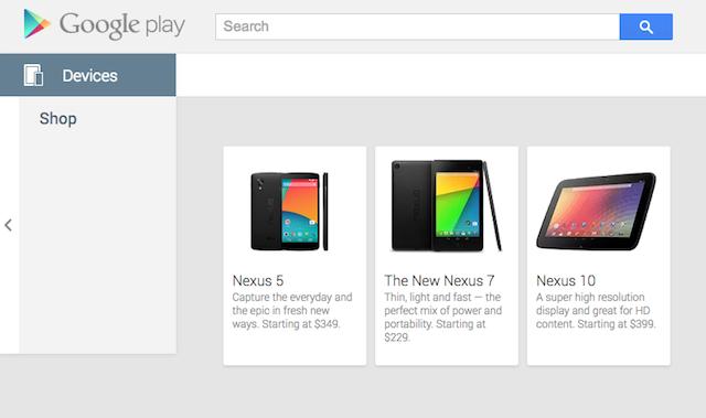 Google vacila e deixa Nexus 5 à mostra: US$ 349 na Play Store americana