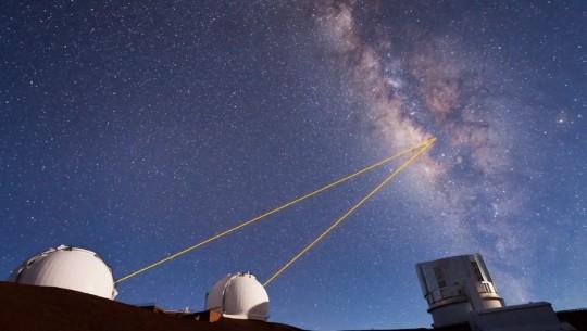 telescope laser