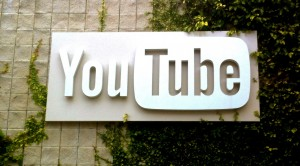 youtube logo sign
