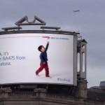 British Ariways Look Up Advert