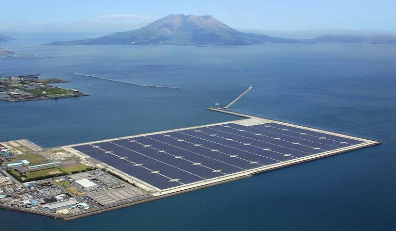 Dois anos após crise de energia nuclear, o Japão inaugura sua maior usina solar