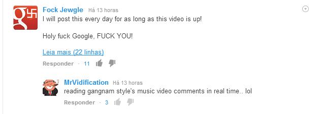 youtube linhas