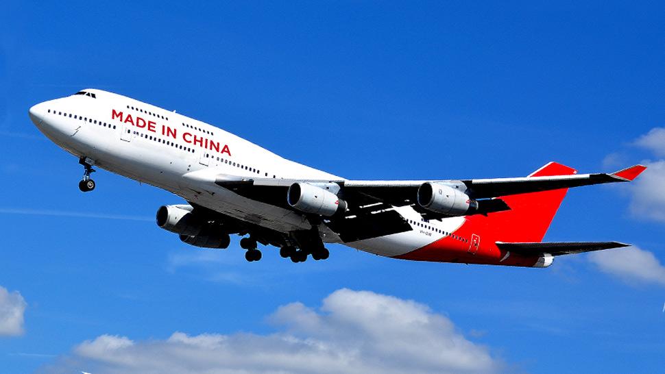 Chineses estão fazendo cópias xing-ling de aviões da Boeing ... Aviao-made-in-china