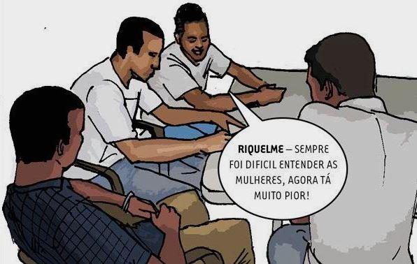 Clique para ler a entrevista em quadrinhos