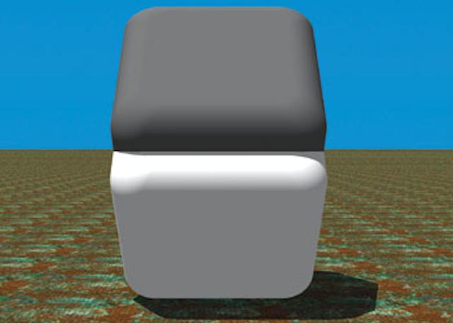 Que tipo de magia negra faz com que estes dois blocos tenham a mesma cor?