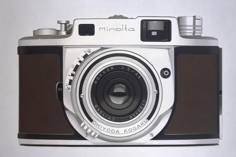 Photorealistic Paintings of Vintage Gadgets (6)