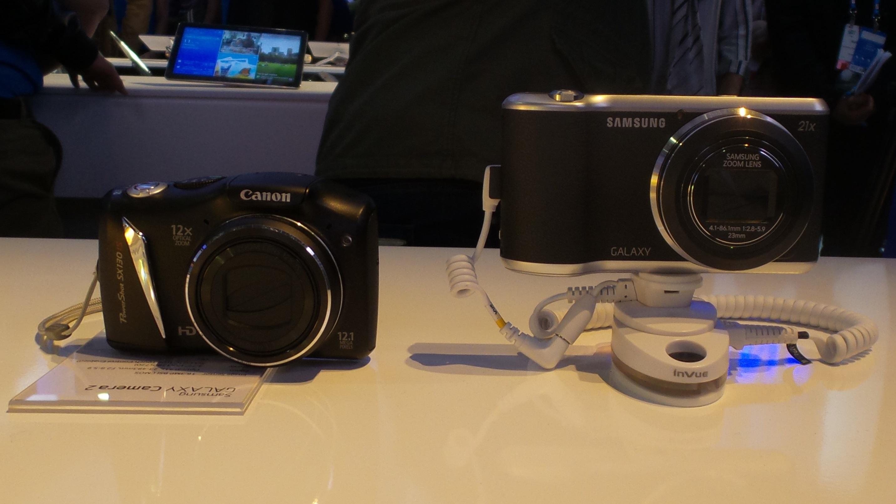 galaxy camera 2 samsung vs canon