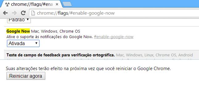 google now chrome 2