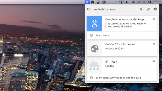 google now chrome tnw
