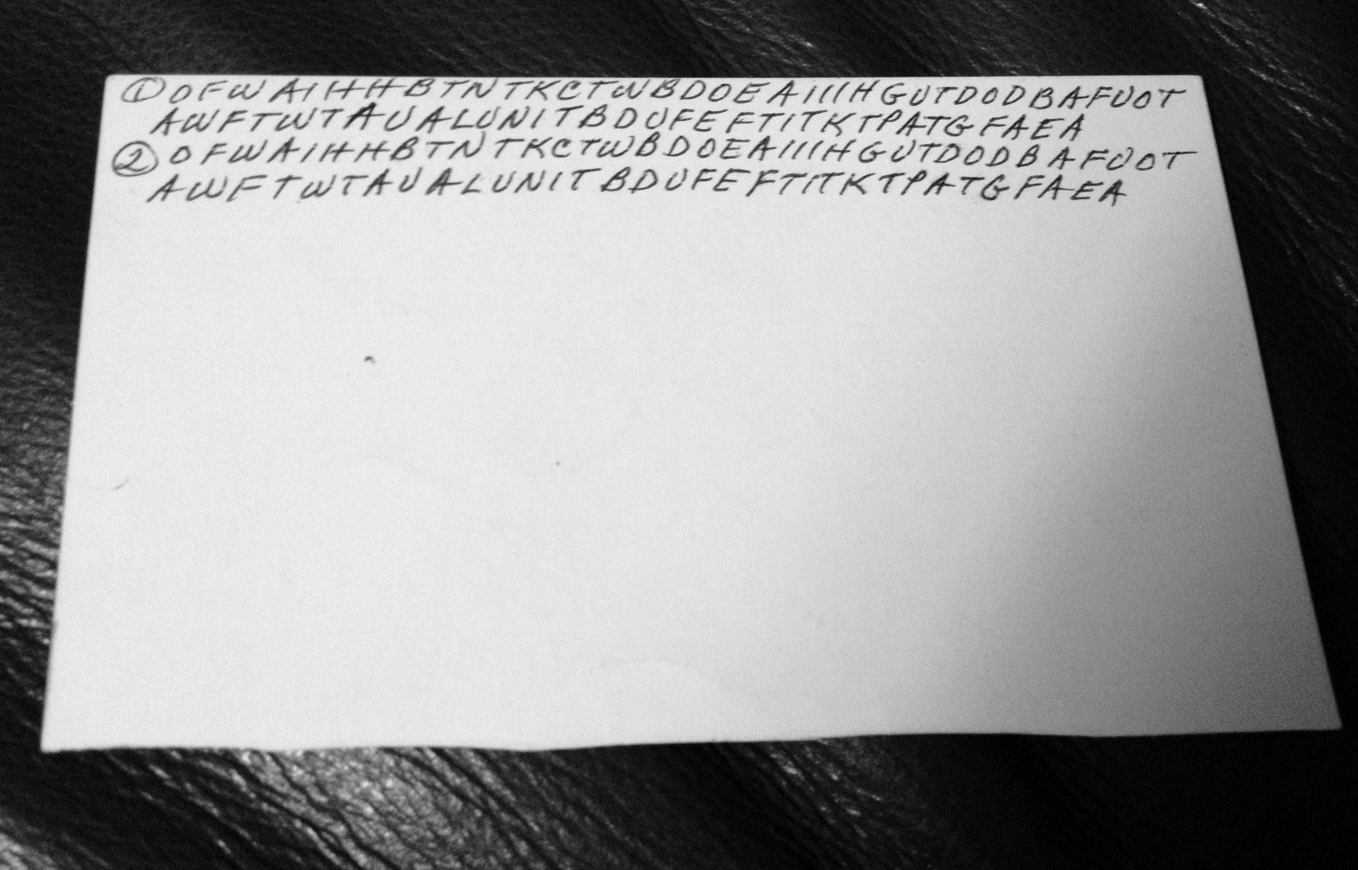 Após 20 anos, código misterioso deixado por avó é decifrado com ajuda da internet