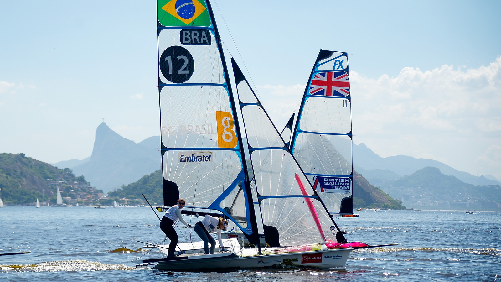 Olympic Sailing Qualifier Held In Guanabara Bay