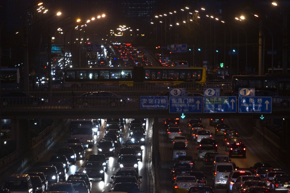 China Beijing Traffic