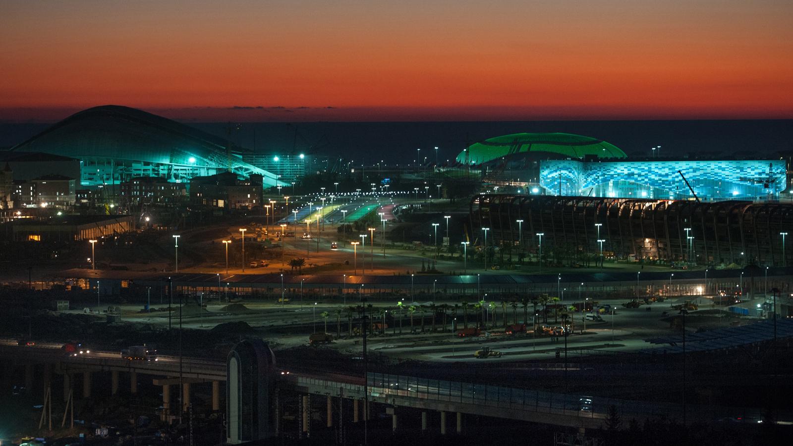 Russia Sochi 2014 Winter Olympics Venues