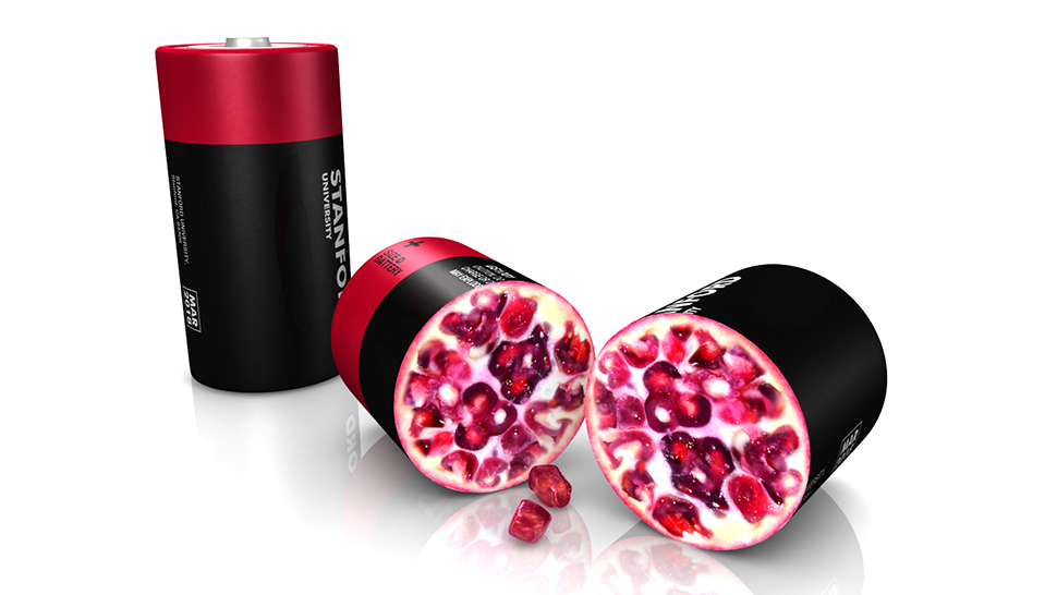 battery pomegranate