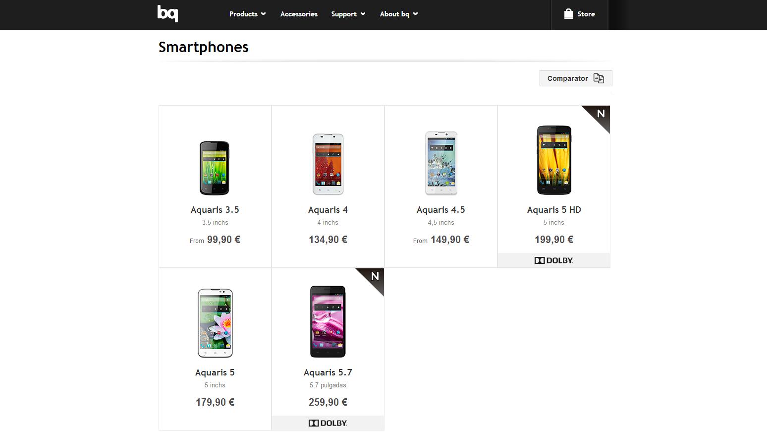 bq readers smartphones