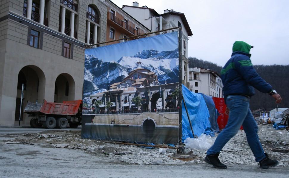 Sochi Olympics Hotel Woes