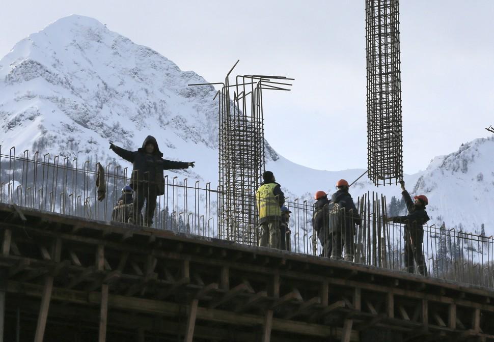 Russia Sochi Migrants