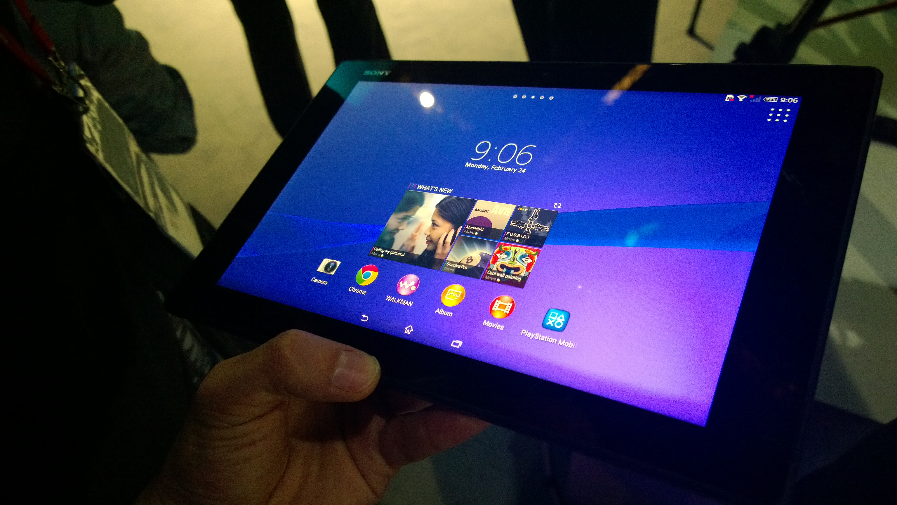 sony xperia z2 tablet espanol