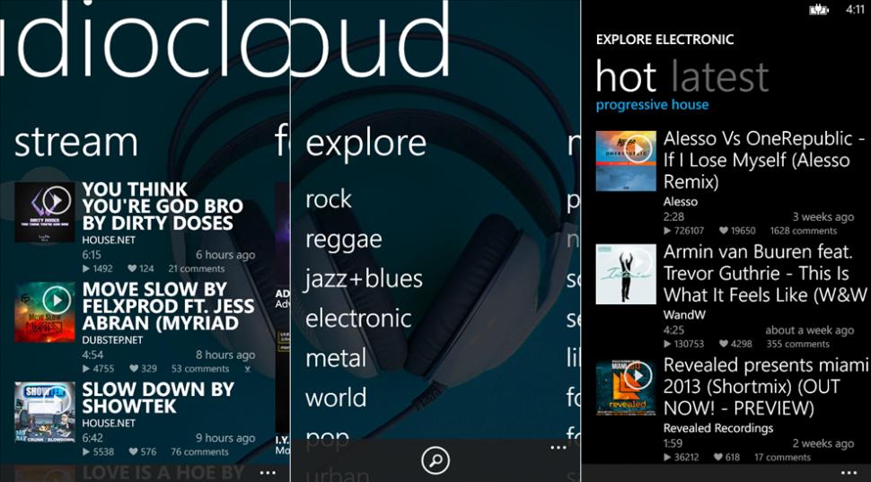 Audiocloud copy