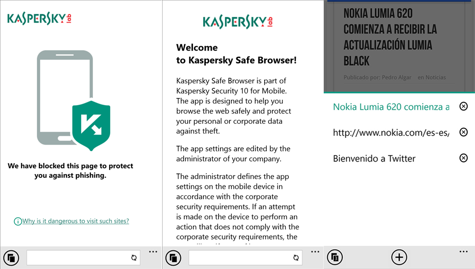 Kaspersky Secure Browser