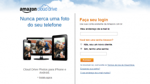 amazon cloud drive brasil