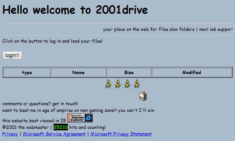 2001drive