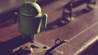 Android going travel vintage